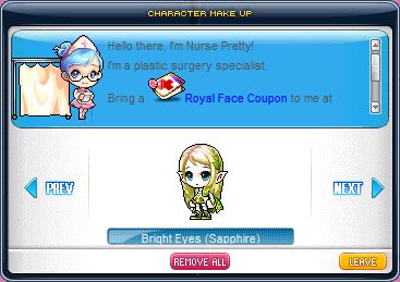 Cash Shop Event - Preview Royal Hair/Face